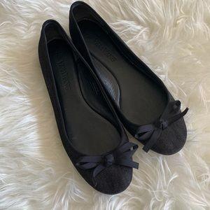 🌴Vera Wang Denim Ballet Flats